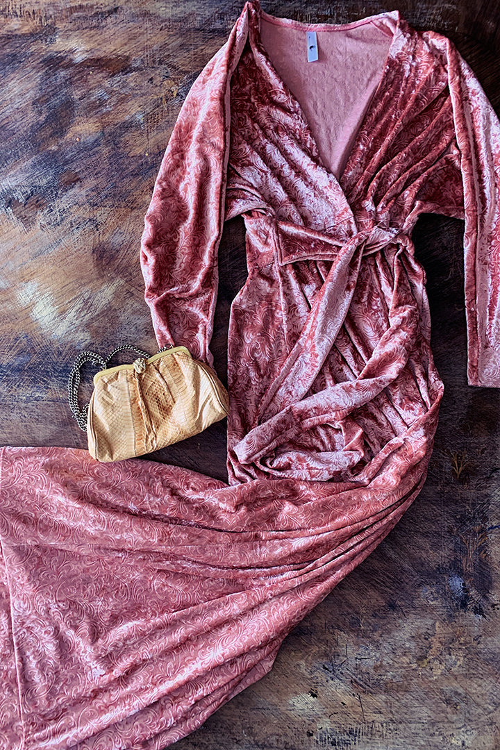 Real Robe Velvet Dress
