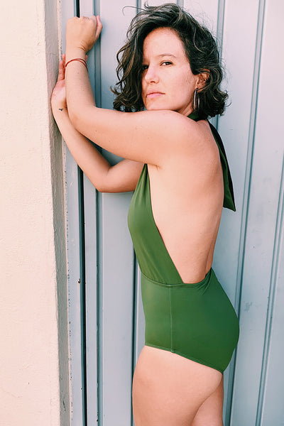 Esmeralda Swimsuit Military Green