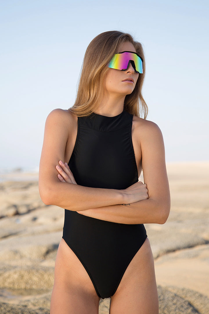 Goose Swimsuit Black