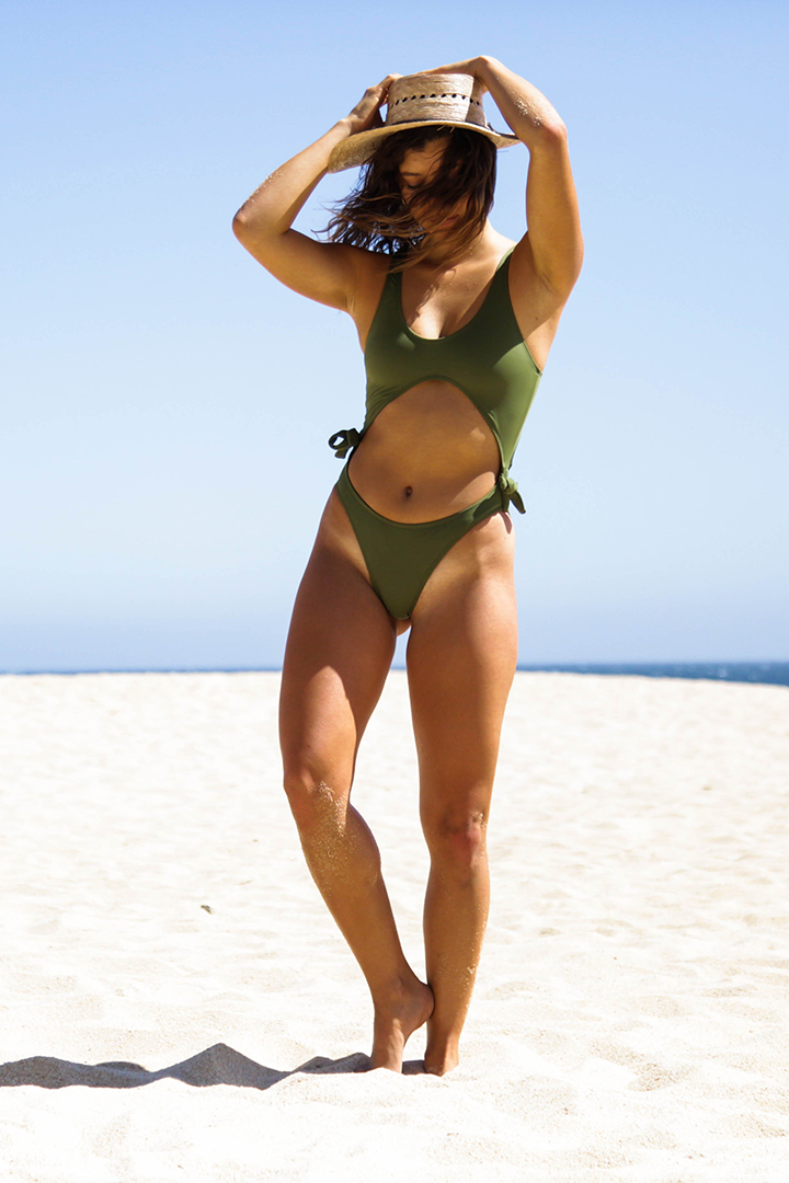Infinity Swimsuit Military Green