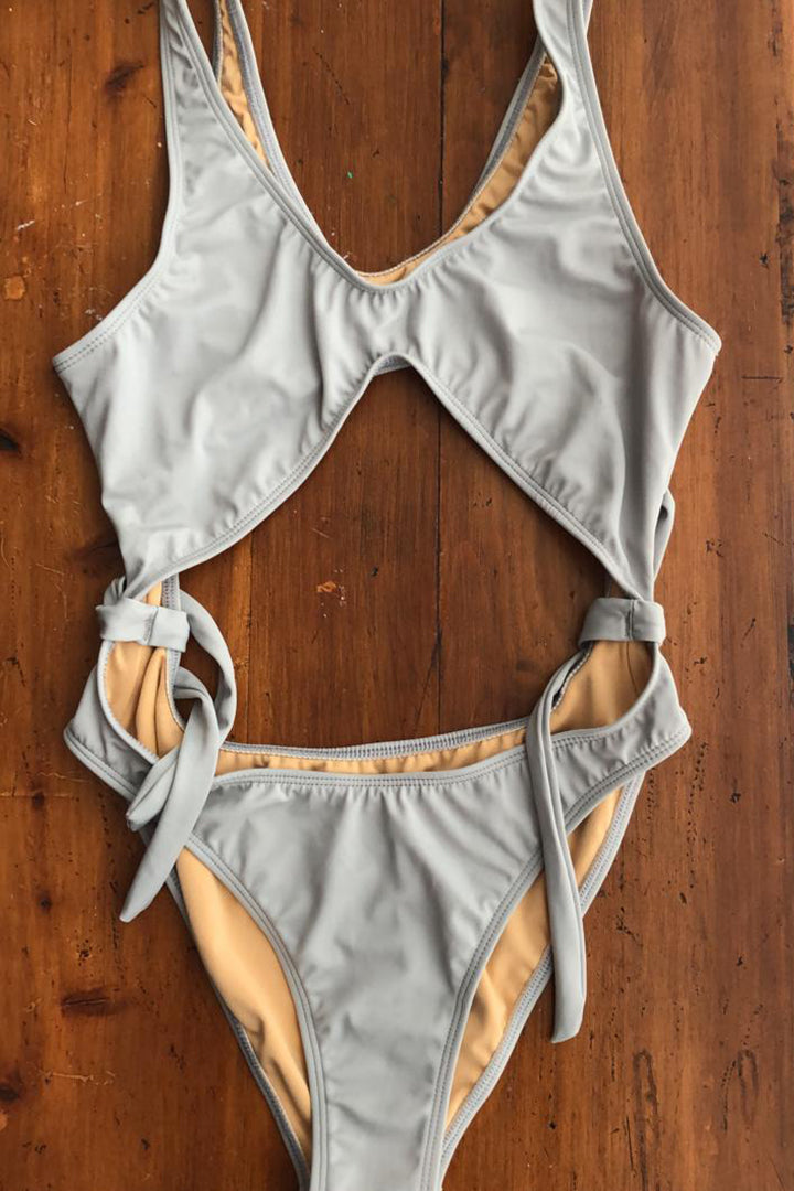 Infinity Swimsuit Grey