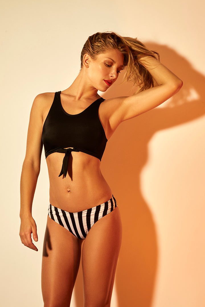 Barilette Swimsuit Black Lines