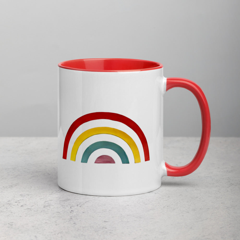 Separated Rainbow Mug