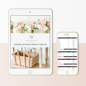 Customizable Budget Template for Wedding Planners