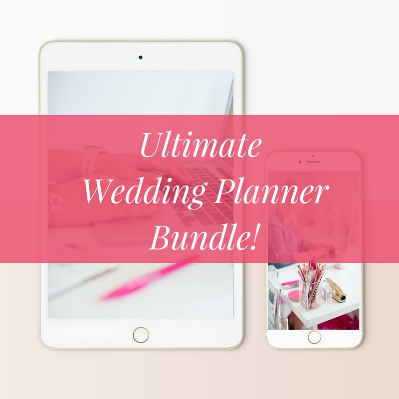 Ultimate Wedding Planner Bundle - Limited Time!!