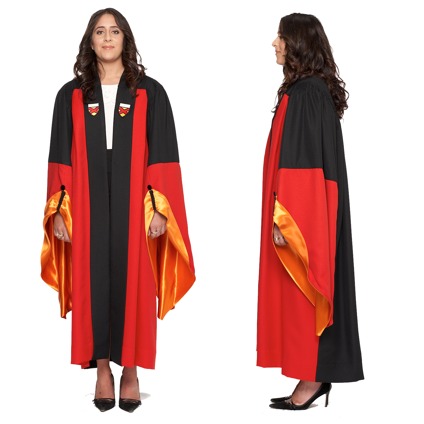 Stanford PhD Gown - All Field of Study Degree Colors in Stock