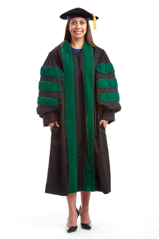 Premium Medical Cap & Gown Set