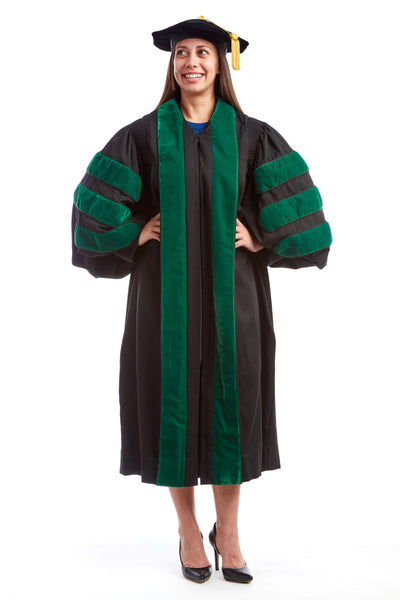 Premium Medical Cap & Gown Rental Set
