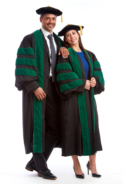 Premium Medical Regalia - Cap & Gown Set - CAPGOWN