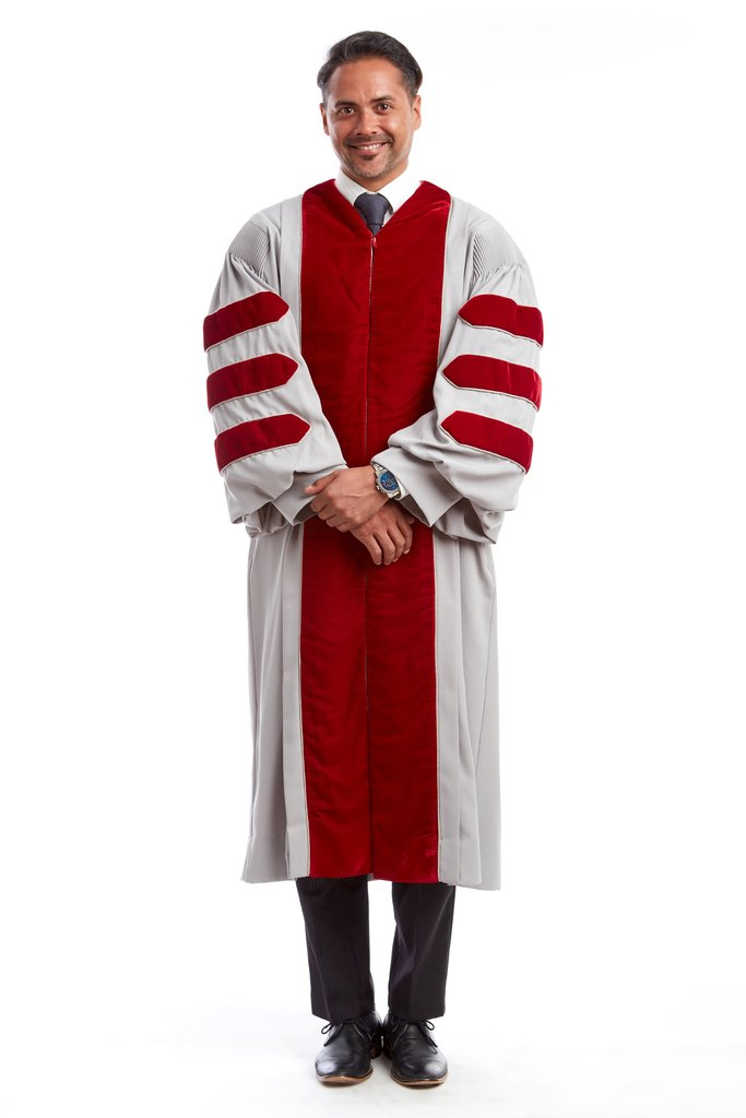 MIT Doctoral Gown for Graduation
