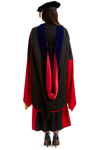 PhD Hood for Stanford University