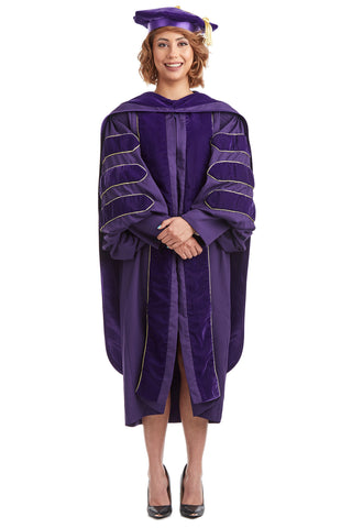 Complete Doctoral Regalia Rental for University of Washington
