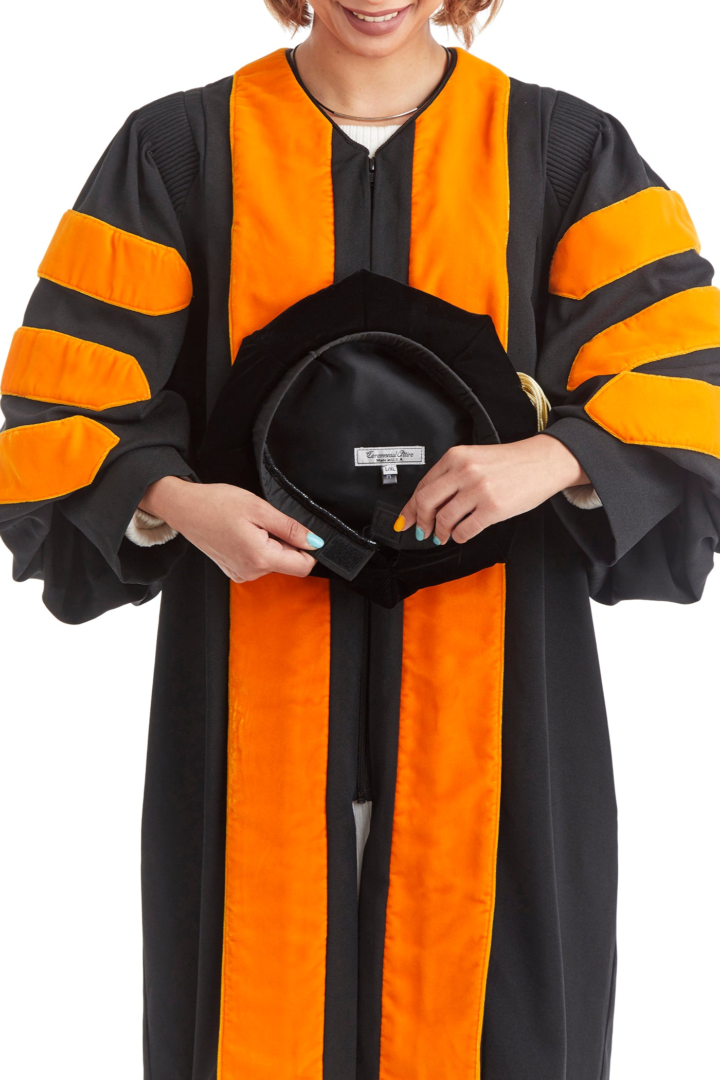 Princeton University 8-Sided Doctoral Tam (Cap) with Silk Tassel