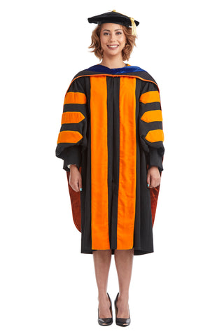 Complete Doctoral Regalia for Princeton University