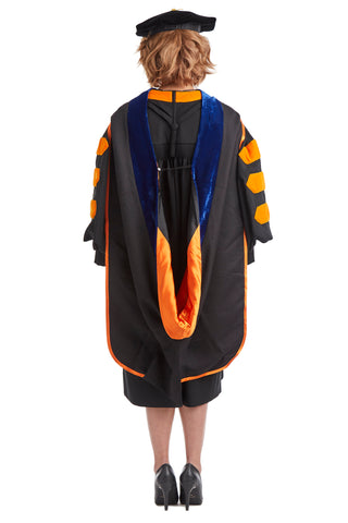 Princeton University PhD Hood for Graduation