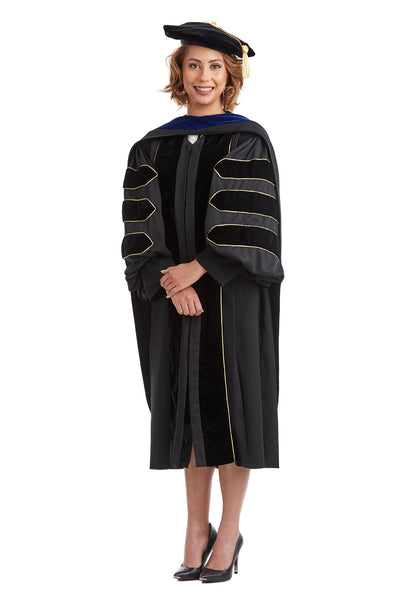 Complete Doctoral Regalia for US Military Academy at West Point - Rental Keeper