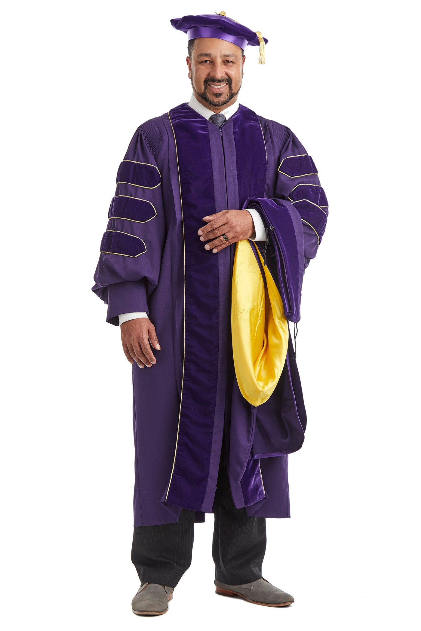 University of Washington Doctoral Hood For Graduation