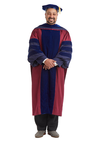 Complete Doctoral Regalia Rental for University of Pennsylvania