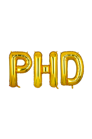 PhD Graduation Balloons - 40""