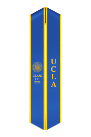 UCLA Class of 2020 Stole - Seal Embroidered - capgown.com