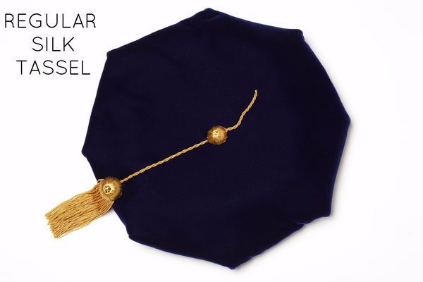 University of California PhD Cap with Silk Tassel for Complete Regalia