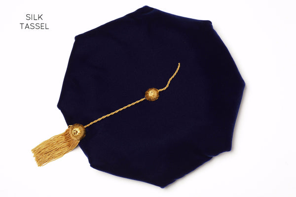 University of California PhD Cap (Tam) with Silk Tassel