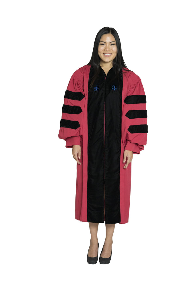 Harvard University Doctoral Regalia, PhD Gown
