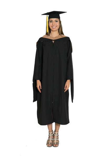 Masters of Business Administration Gown, Hood, & Cap set for UC Berkeley, UCLA, UCSD, UC Irvine, & UC Riverside Graduation