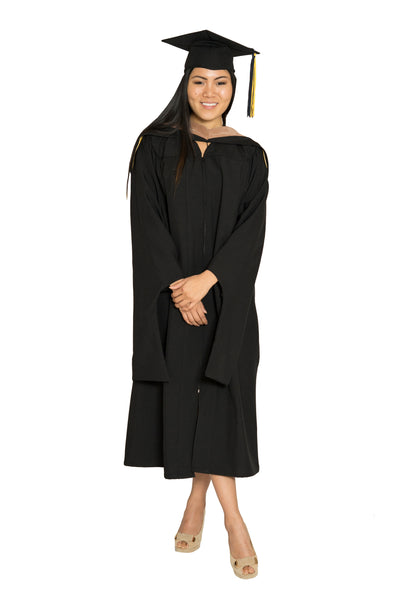 UC MBA Gown, Hood, & Cap set for UC Berkeley, UCLA, UCSD, UC Irvine, & UC Riverside Graduation