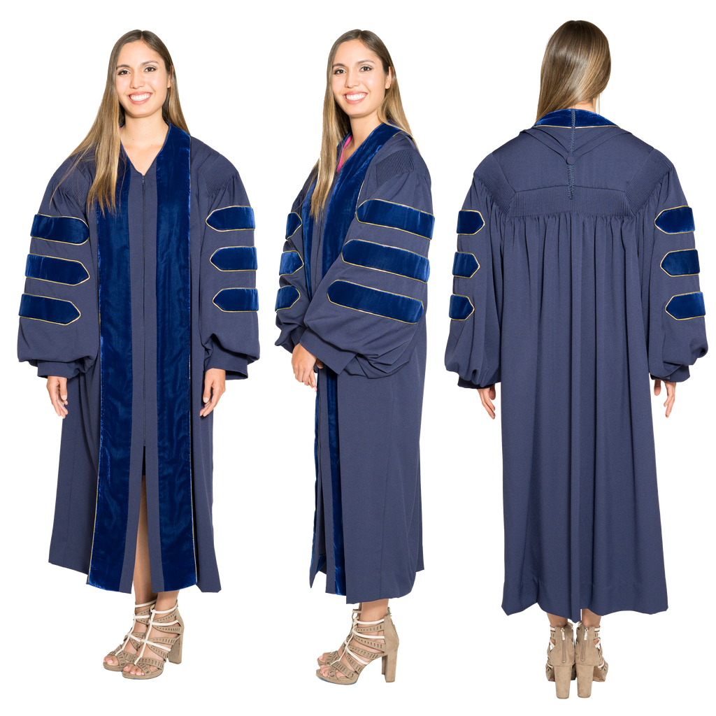 University of California PhD Gown for Graduation