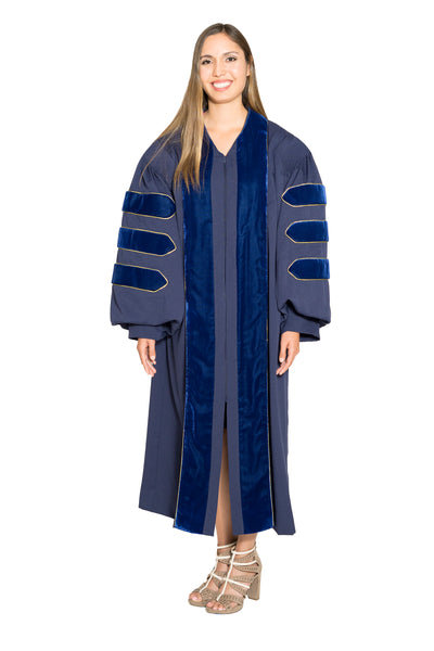 University of California PhD Doctoral Gown Berkeley, UCLA, UCSD, UCSB, Davis, Irvine, Santa Cruz, Riverside