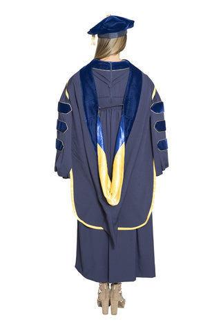 University of California Doctoral Hood - RENTAL KEEPER - Berkeley, UCLA, UCSD, UCSB, Davis, Irvine, Santa Cruz, Riverside