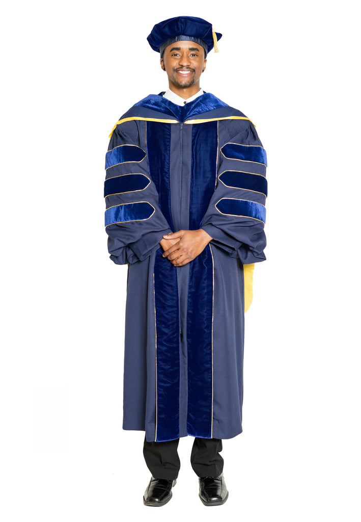 University of California PhD Regalia Rental Set