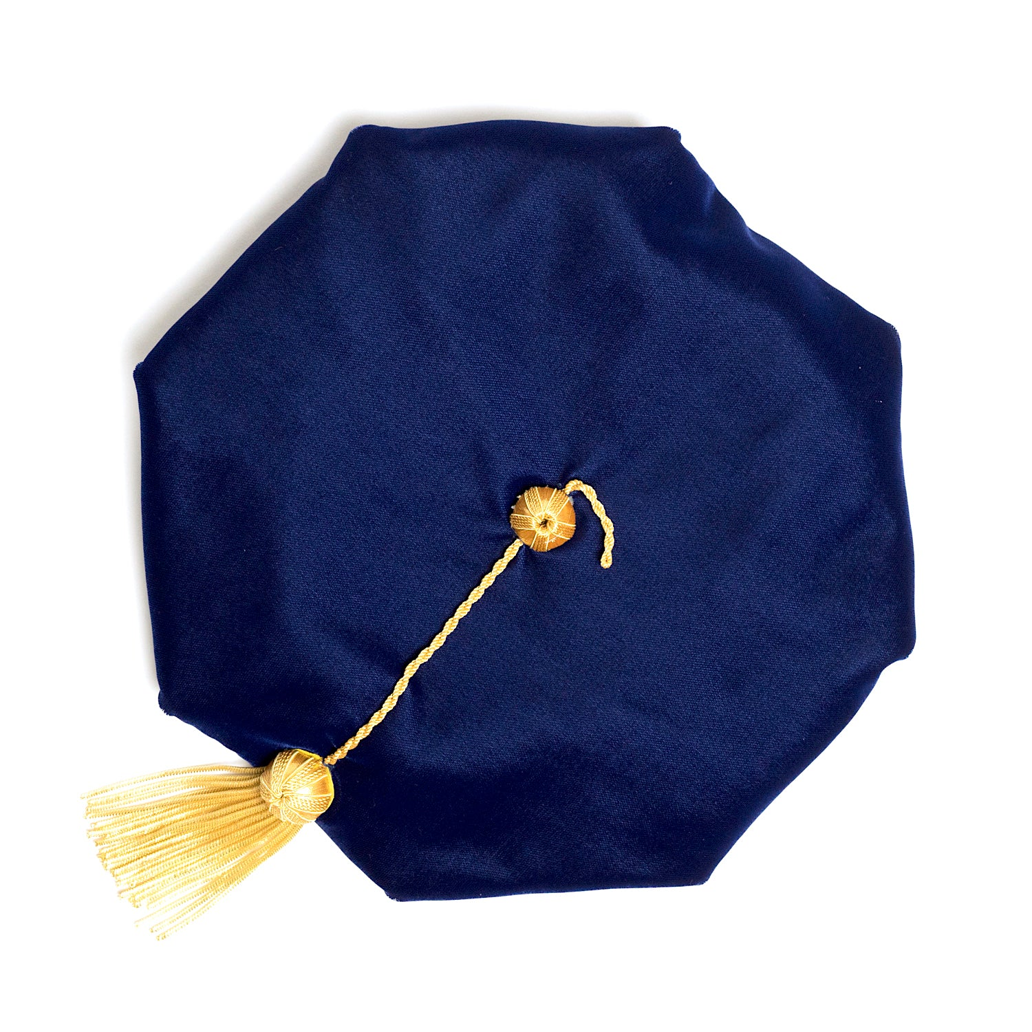 University of Pennsylvania 8-Sided Doctoral Tam (Cap) with Gold Tassel