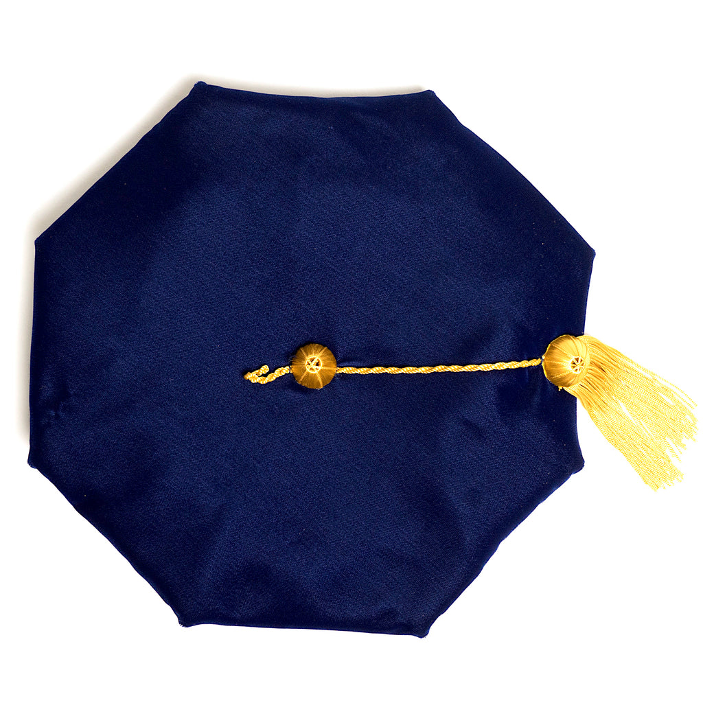 University of Pennsylvania 8-Sided Doctoral Tam (Cap) with Silk Tassel