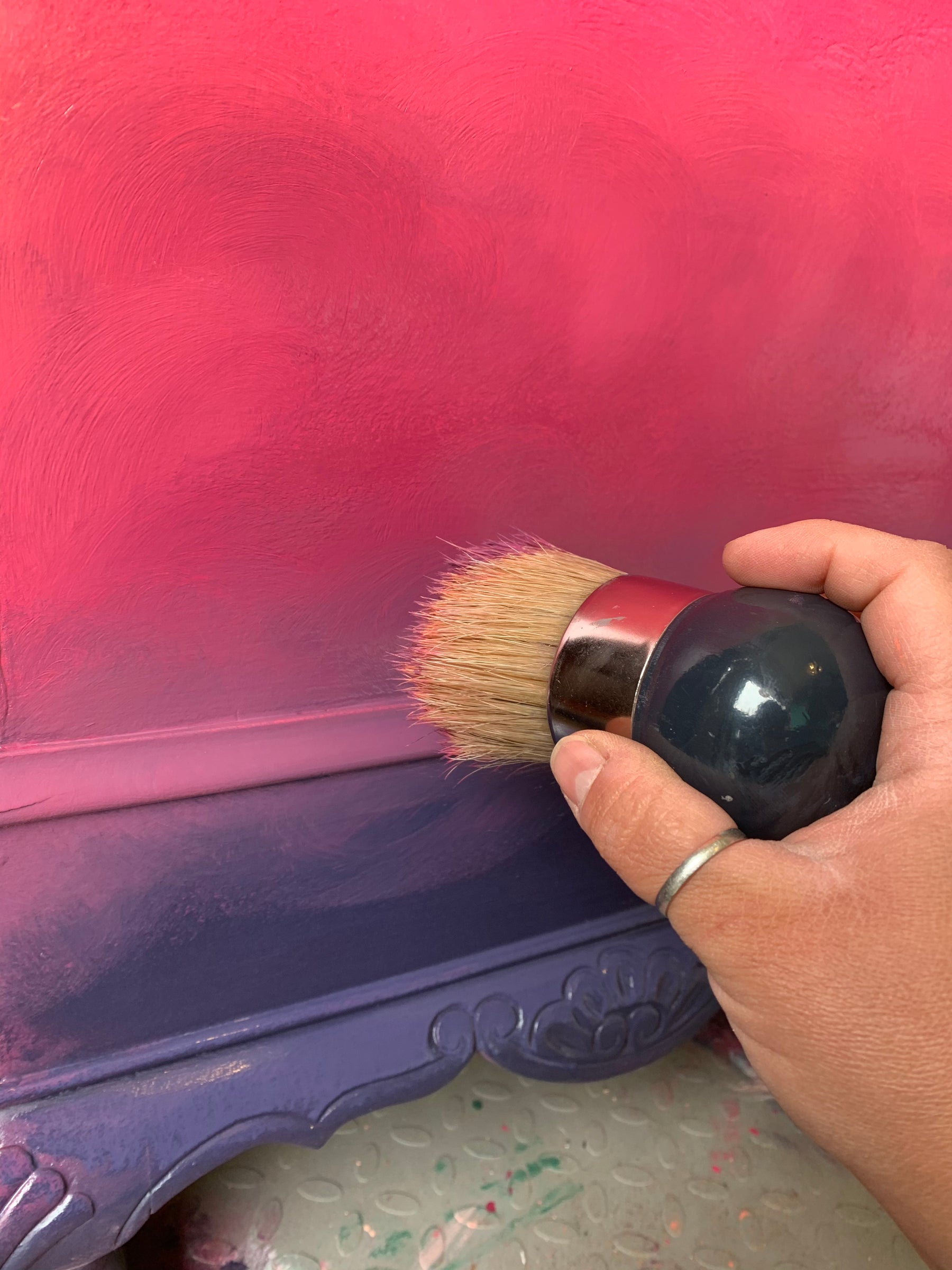 The Easy Peasy Way To Blend Dixie Belle Paint Guest Blog