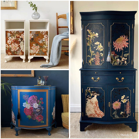 furniture transfers collection of designs
