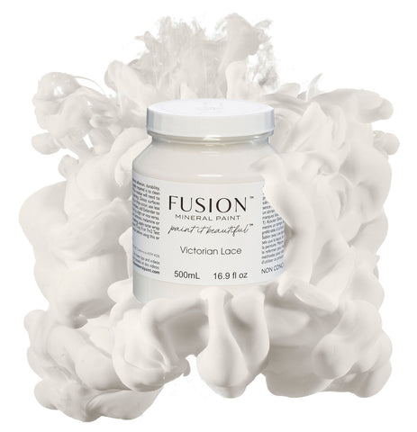Victorian Lace Fusion Mineral Paint Shabby Nook