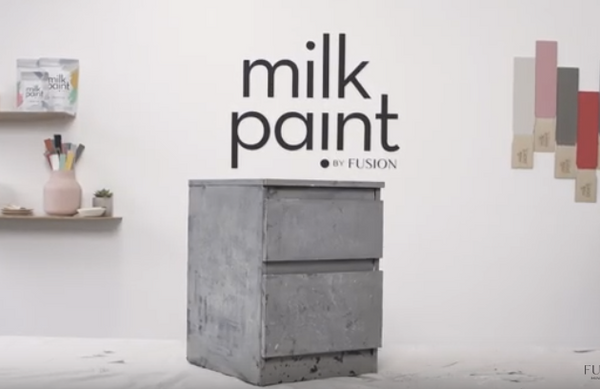 milk painting effects