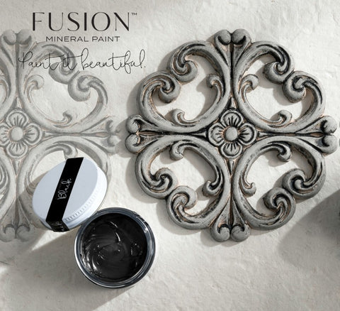 Black wax, Fusion mineral paint, shabby nook, stockist, uk