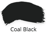 Coal Black, black furniture paint, fusion mineral paint,  classic collection, shabby nook, uk, stockist