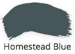 Homestead blue, petrol blue, rich tone, fusion mineral paint, classic collection, shabby nook, stockist, uk