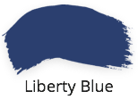liberty blue, royal blue, colbolt blue, intense, dark blue, classic collection, fusion mineral paint, shabby nook, stockist uk
