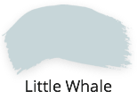 little whale, cool light blue. grey, fusion mineral paint, tones for tots, collecton, shabby nook, stockist, uk