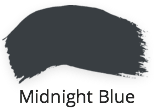 midnight blue, dark intense, inky blue, blue black, fusion mineral paint, classic collection, shabby nook, stockist, uk