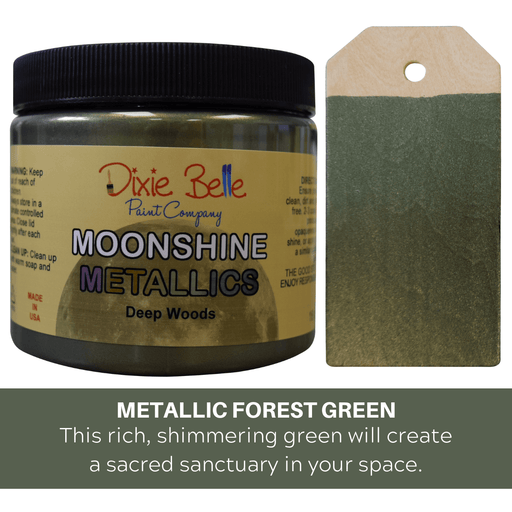 Moonshine Metallic - Deep Woods - Dixie Belle Paint, Dixie Belle Paint, Shabby Nook dixie belle mineral chalk paint