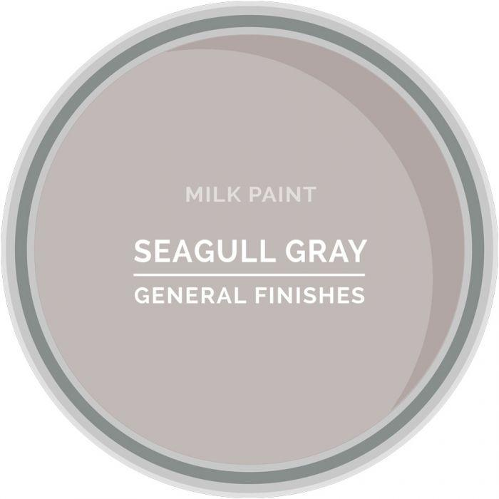 Seagull Gray - Soft pretty light Grey -  General Finishes Milk Paint, GF milk paint, Shabby Nook general finishes