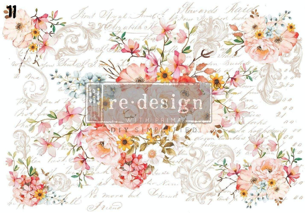 Re Design With Prima - Image Transfers / Decals For Furniture, furniture transfer image, Shabby Nook Re Design with Prima Marketing