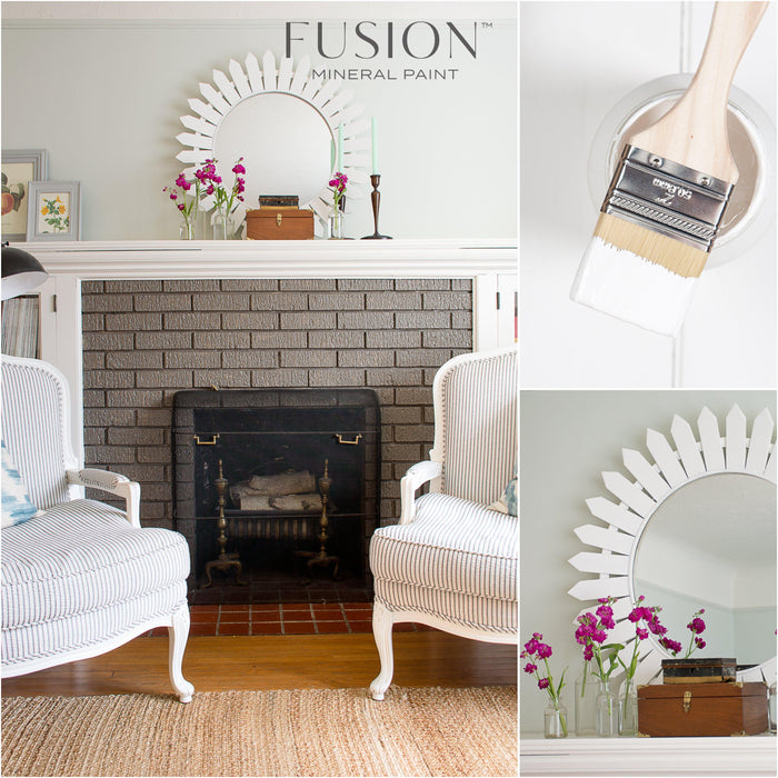 Picket Fence  - Bright White - Fusion™ Mineral Paint, Fusion Mineral Paint, Shabby Nook Shabby Nook
