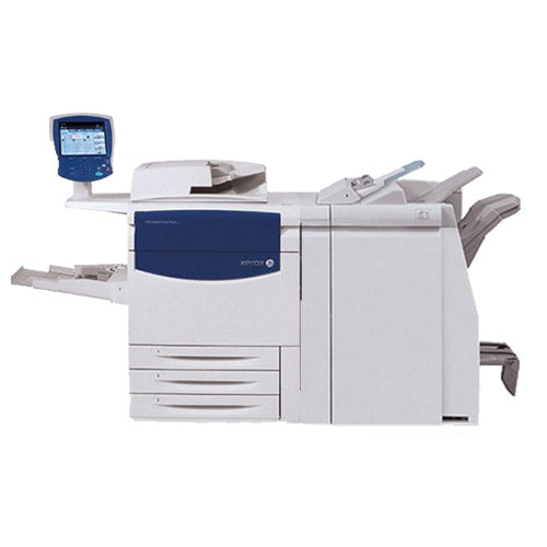 Xerox C75 Color Press Production Print Shop Printer with Standard Booklet Maker Finisher and Large Capacity Tray